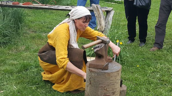 Beate - Iceland's Champion Blacksmith